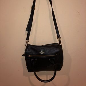 KATE SPADE. cross body/hand bag. lightly used